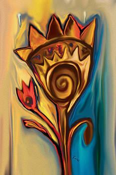 The Flower by Rabi Khan