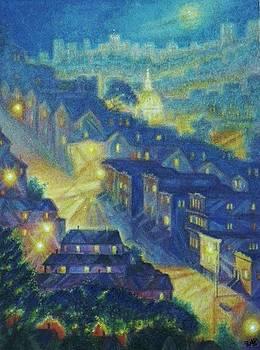 The Fog Rolls In by Raffi Jacobian