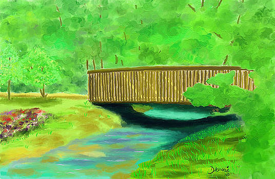 The Foot Bridge by Deborah Rosier