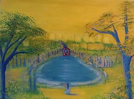 The fountain of Peace by Deyanira Harris