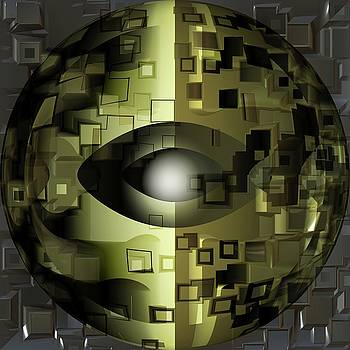 The Fractal Eye by Mario Carini