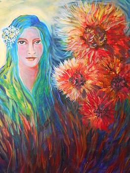 The Garden Flower by Carolyn LeGrand