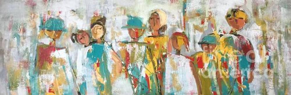 The Gatherers  by Elaine Lanoue