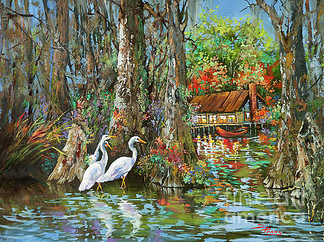 The Gathering - Louisiana Swamp Life by Dianne Parks