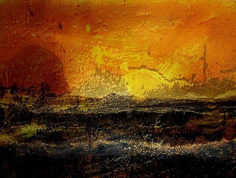 The Gloaming on the Gulf by    Michaelalonzo   Kominsky