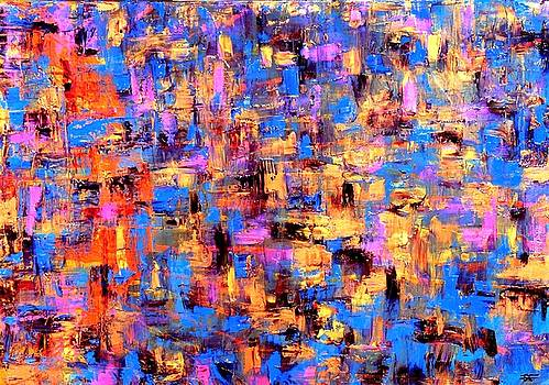 The Glowing abstraction 2 by Carla Sa Fernandes
