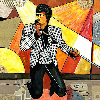 The Godfather of Soul James Brown by Everett Spruill
