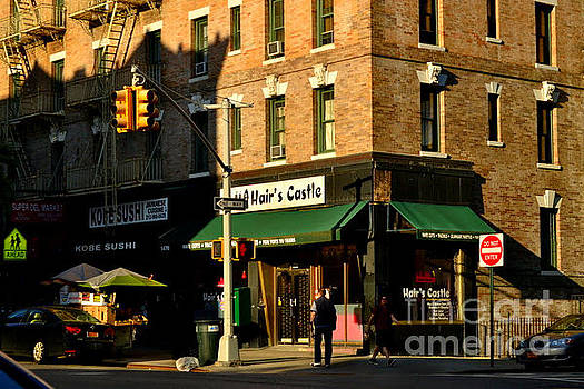 The Golden Hour - New York City Street Scene by Miriam Danar