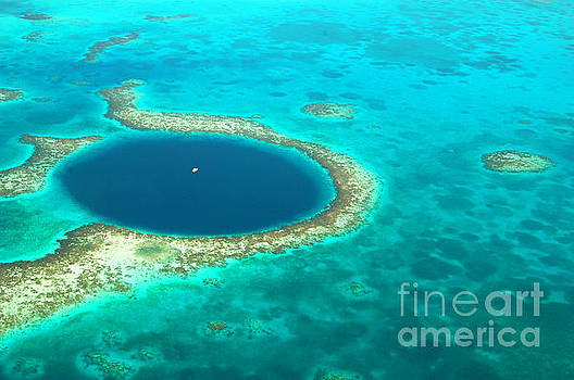 The Great Blue Hole by Richard Gibb