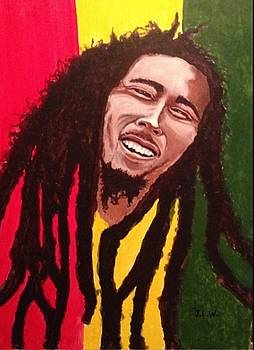 The great Bob Marley by Justin Lee Williams