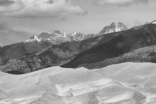 James BO  Insogna - The Great Sand Dunes BW Print 45