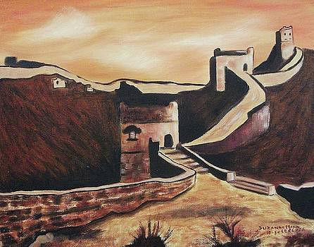 Suzanne  Marie Leclair - The Great Wall of China
