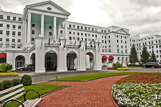 The Greenbrier Hotel by Jeanne Sheridan