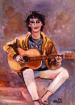 The Guitar Player by John Keaton