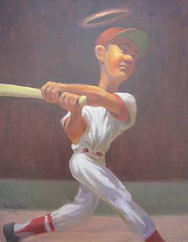 The Haloed Home Run Hero by Texas Tim Webb