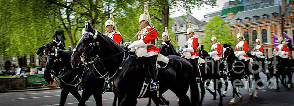 The Happy Horse Guard by Marina McLain