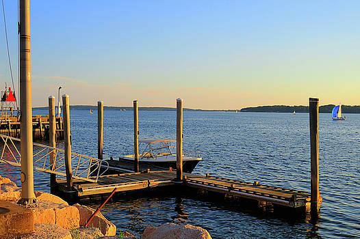 The Harbor Bristol Rhode Island by Tom Prendergast