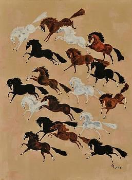 The Herd No. 2 by Liz Pizzo