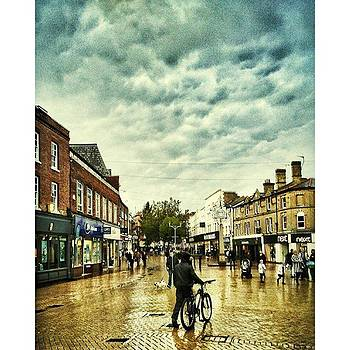 The High St In My Home City Of by Fine Art By Andrew David