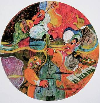 The Holland Jazz Trio by Lee Ransaw