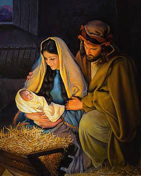 The Holy Family by Greg Olsen