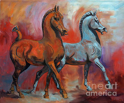 The Horses by Jeanne Newton Schoborg