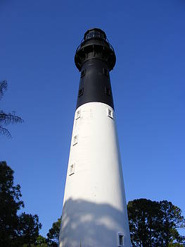 The Hunting Island Lighthouse by Elena Tudor