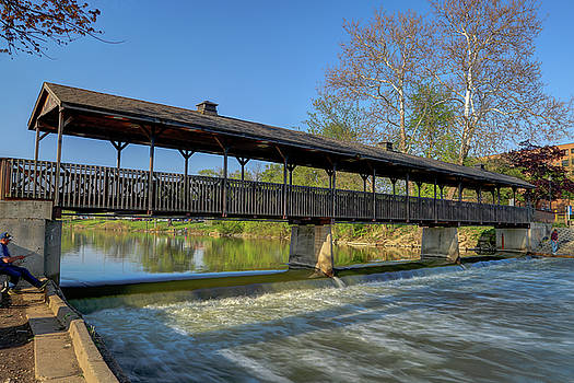 The Huron River by Dave Manning