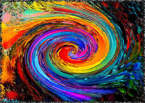 The Hurricane - Abstract by Michael Rucker