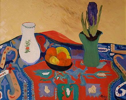 The Hyacinth  by bill o'connor by Bill OConnor