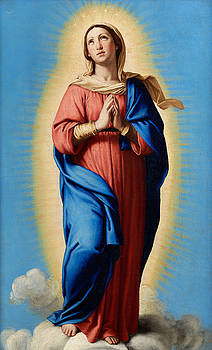 The Immaculate Conception by Giovanni Battista Salvi