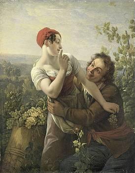 The Impassioned Grape Picker by R Muirhead Art