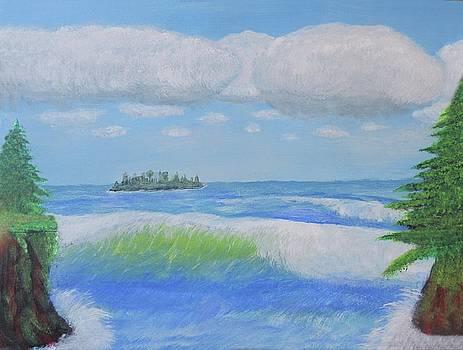 The Island by Gordon Wendling