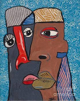 The Kiss by David Jackson