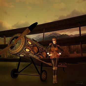 The Last Steampunk Flight by Emma Alvarez