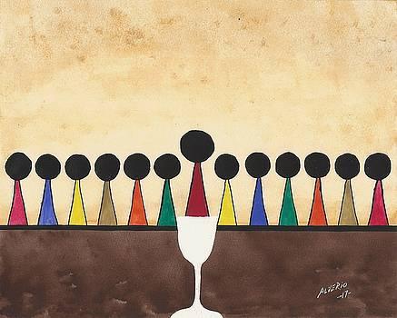 The Last Supper  by Edwin Alverio