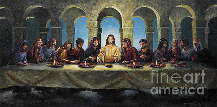 The Last Supper by Joey Agbayani
