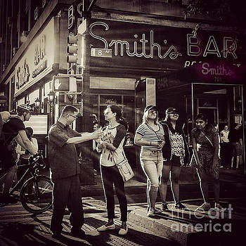 The Legendary Smiths Bar - New York City by Miriam Danar