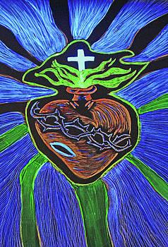 The light of the Sacred Heart by Lisa Brandel