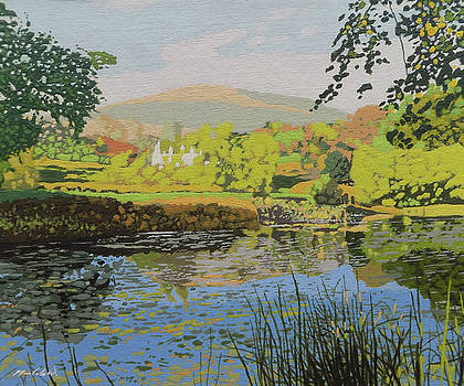 The Lilly Pond by Malcolm Warrilow