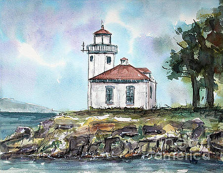 The Lime Kiln Lighthouse by Tim Ross