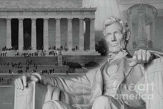 The Lincoln Memorial by E B Schmidt