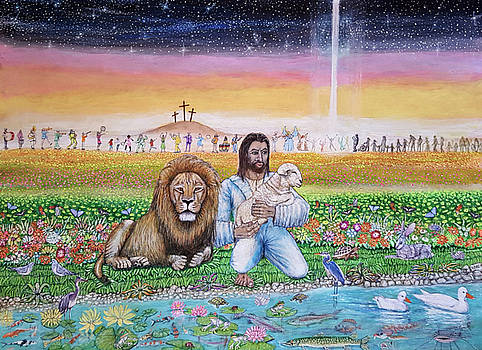 The Lion And The Lamb by Neal David Reilly