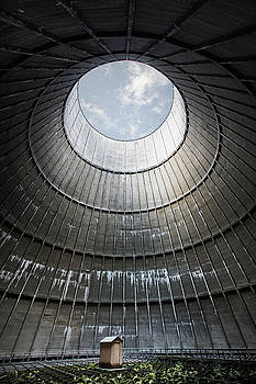 The little house inside the cooling tower by Dirk Ercken