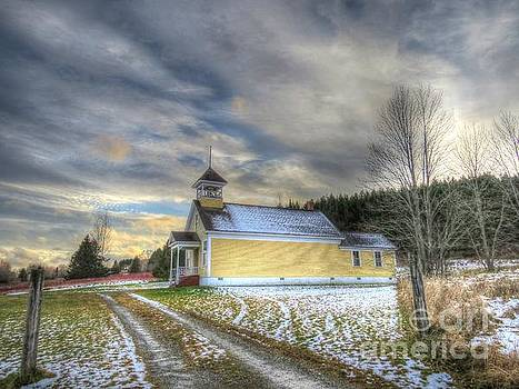 The little schoolhouse by Brenda Ketch