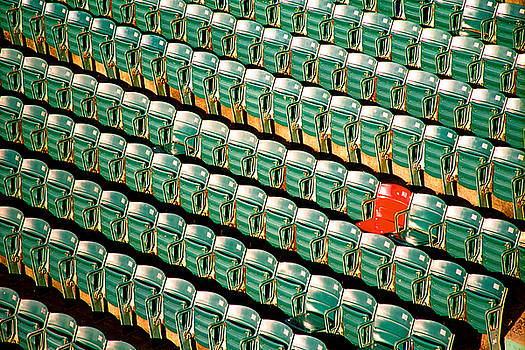 The Lone Red Seat by Claude Taylor