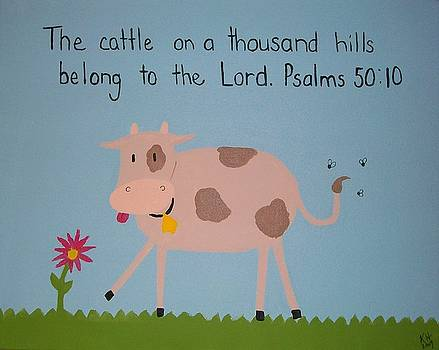 The Lord's Cattle by Kristen Hurley