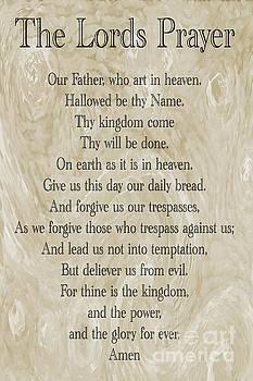 The Lords Prayer by Geraldine DeBoer