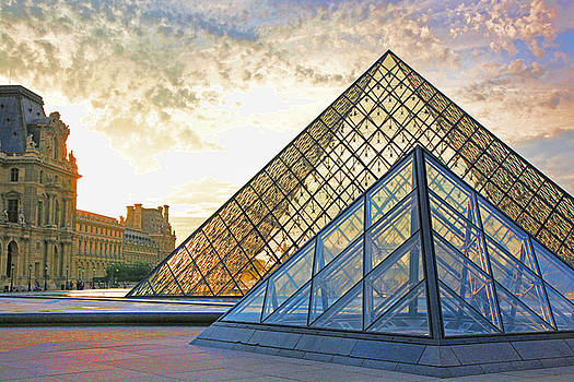 Chuck Kuhn - The Louvre I