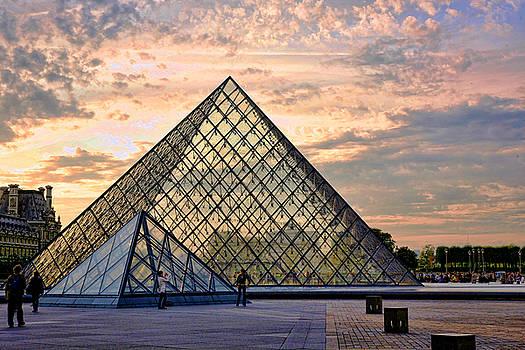 Chuck Kuhn - The Louvre II
